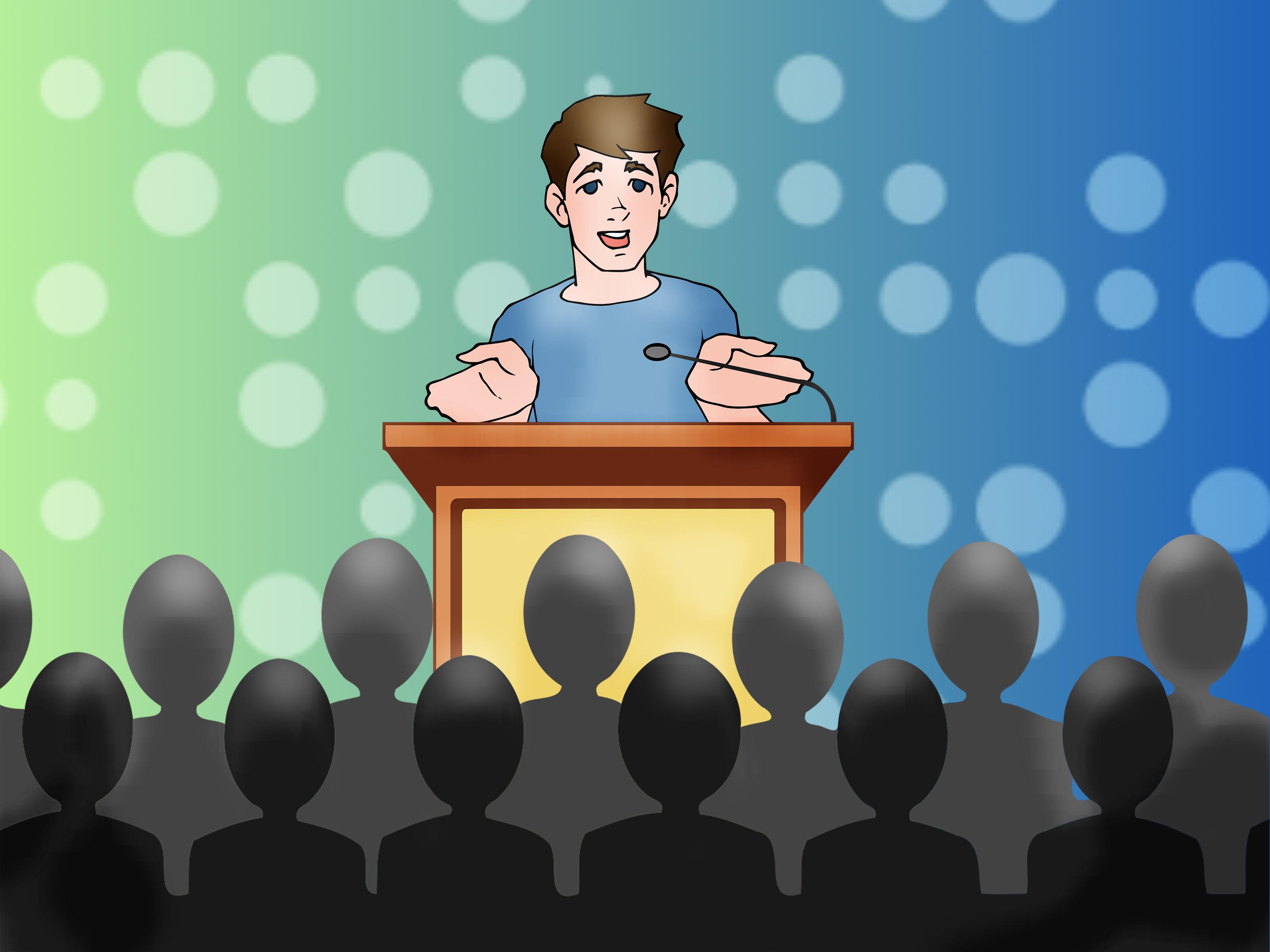 Fear clipart nervous speech Fear of Speaking: Rid the