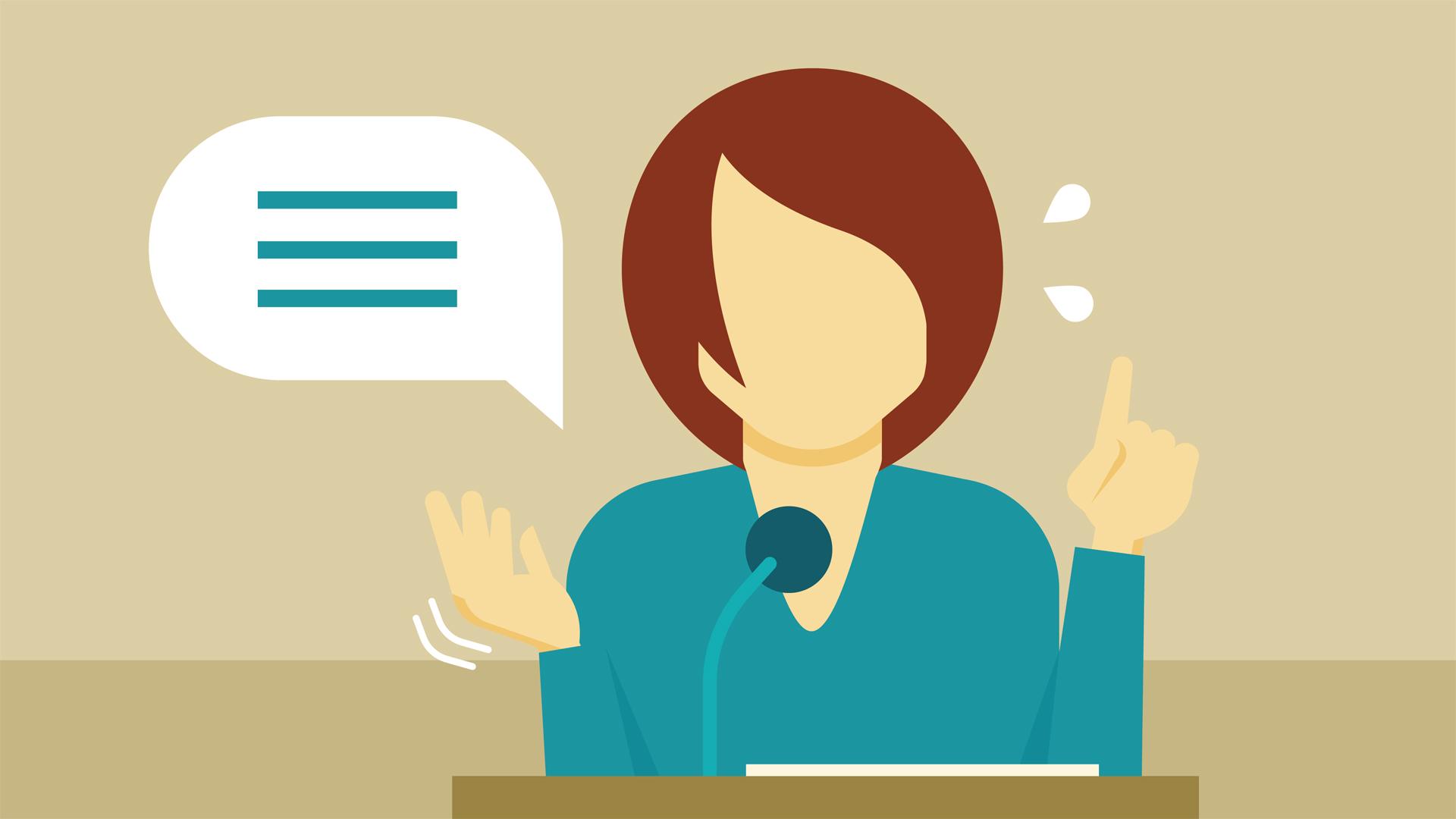 Fear clipart scared public speaking Overcoming  Public of Fear