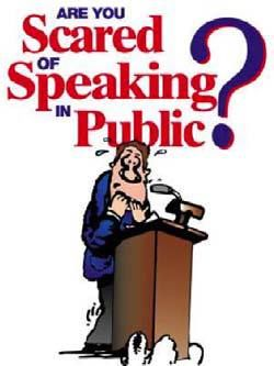 Fear clipart scared public speaking Pinterest About Spooked Public Best