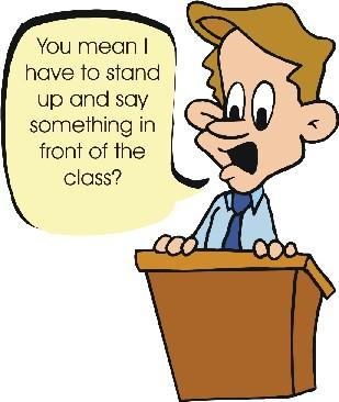 Fear clipart scared public speaking Healing Public is It more