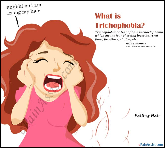 Fear clipart sensitivity Hair are Trichophobia its What