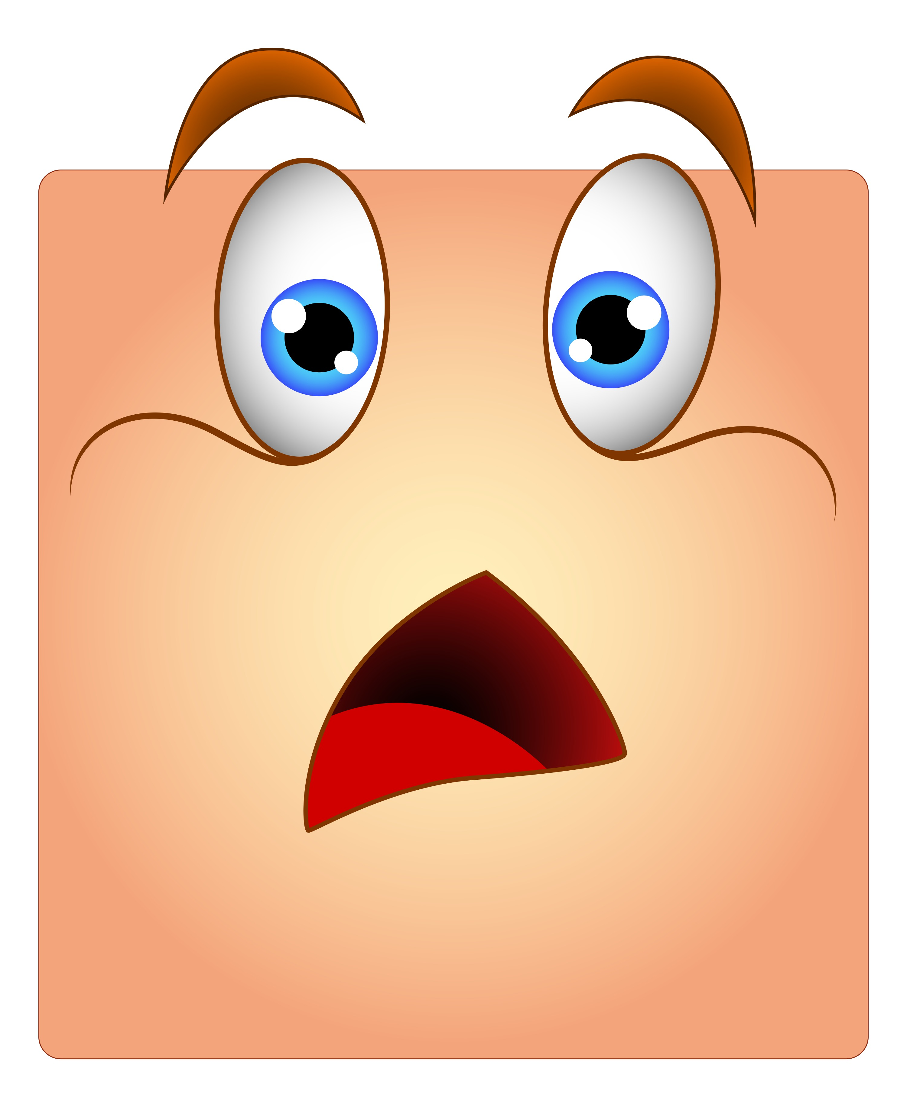 Fear clipart surprised face Our – to we based