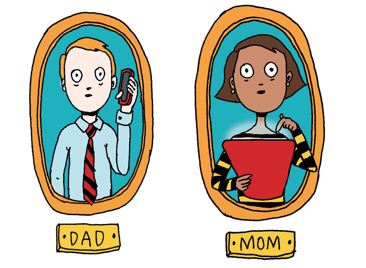Fear clipart worried mother ParentMap Tech? monitoring Scared with