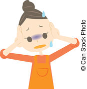 Fear clipart worried mother A worried Clipart Worried and