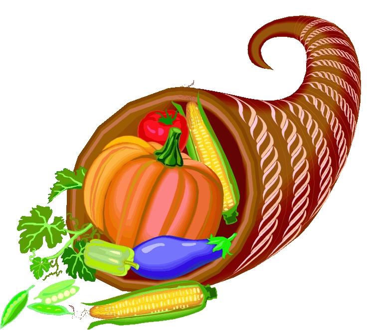 Basket clipart cornucopia November Clipart Clipart Star November