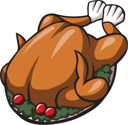Turkey clipart grilled chicken #1