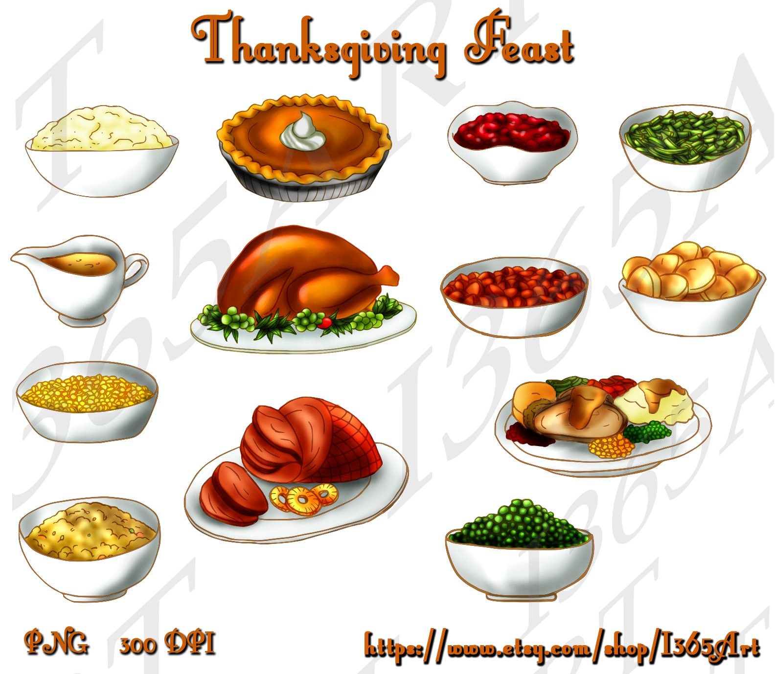 Pie clipart turkey food Com food clipart thanksgiving clipartsgram