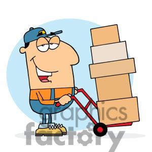 Fedex clipart truck container Clipart postman%20clipart Postman Panda Images