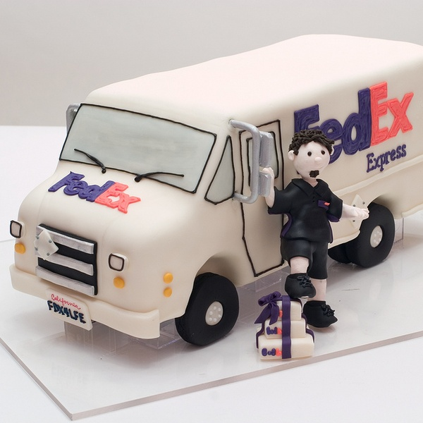 Fed Ex clipart 18 wheeler Someone someone food kool when