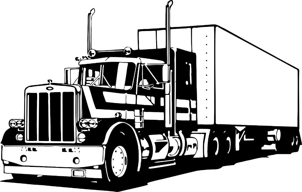 Fedex clipart 18 wheeler Car Stickers For Online Big