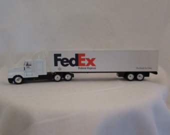 Fed Ex clipart 18 wheeler Fedex Delivery Kenworth Toy Toy