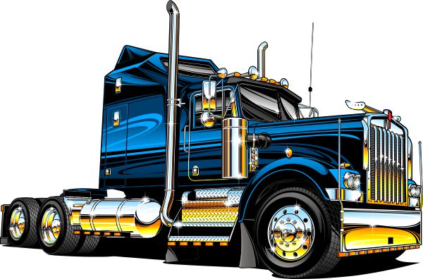 Fed Ex clipart big truck Semi Semi clipart some that