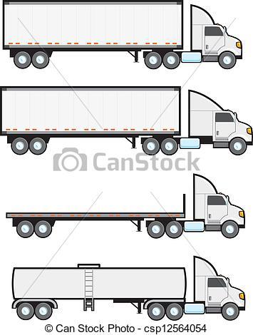 Fed Ex clipart big truck Big  big American Four