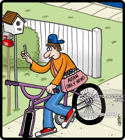 Fed Ex clipart delivery boy Comics of Boy Delivery and