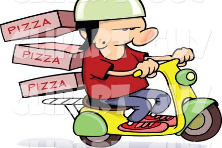 Fedex clipart delivery man Clip Truck Clip Delivery Clipart
