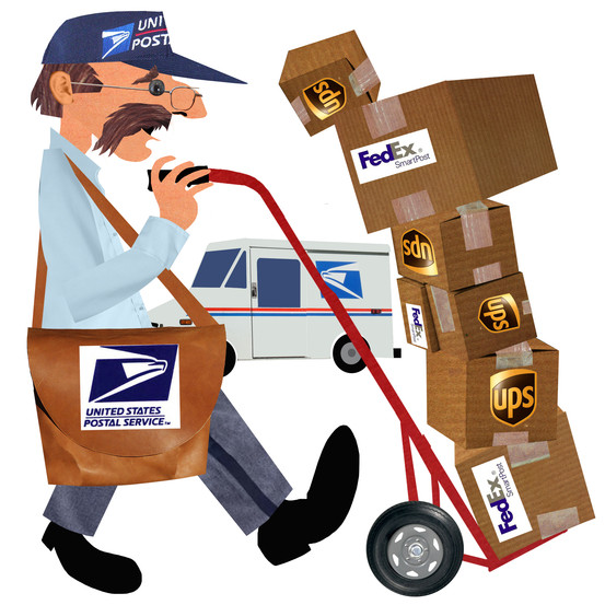 Fed Ex clipart delivery person For a Cheaper For and
