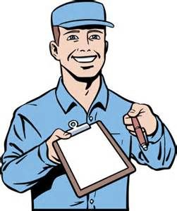 Fed Ex clipart delivery person Cartoon Images Delivery Cartoon Man