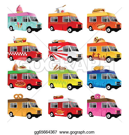 Fed Ex clipart food truck GoGraph Royalty Food truck ·