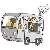 Fed Ex clipart food truck Royalty Clip Food · and