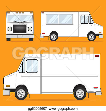 Fed Ex clipart food truck Art Truck GoGraph Food ·