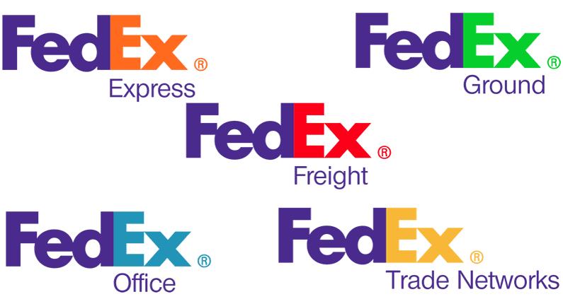 Fed Ex clipart freight Hidden the arrow in design