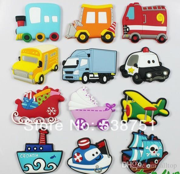 Fedex clipart bus Bus Cartoon Custom Fridge magnet