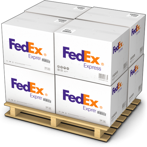 Fed Ex clipart package delivery Products Size warehouse shipment