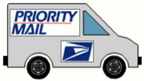 Fed Ex clipart postal truck GIPHY GIF Find on