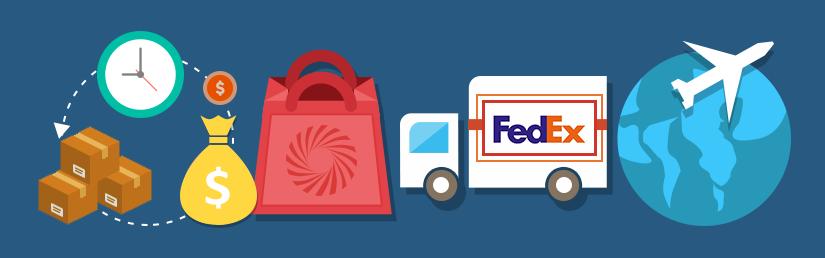 Fed Ex clipart side view Shipment Virtuemart Joomla  FedEx