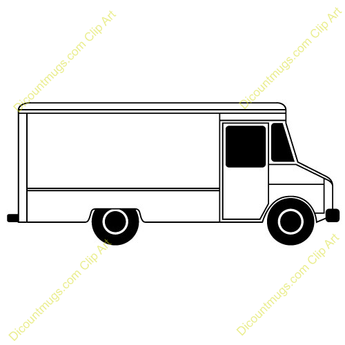 Fedex clipart food truck Clipart delivery Food  truck