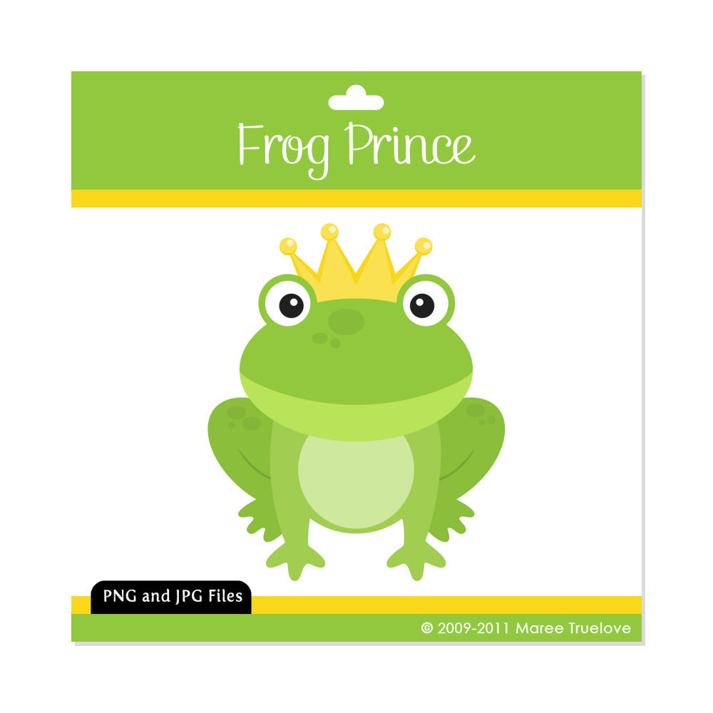 Feeling clipart digital By MareeTruelove Frog Graphics Frog