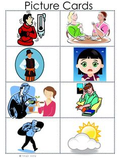 Feeling clipart esl Matching Pack the the 9