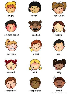 Feeling clipart memory game Vocabulary (2 from pages) Education