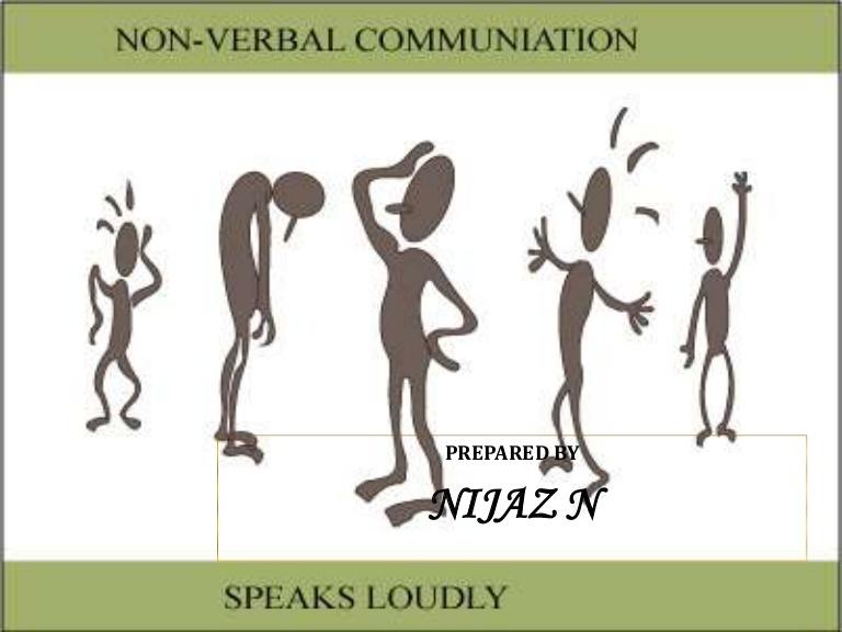 Feeling clipart non verbal  verbal Non communication