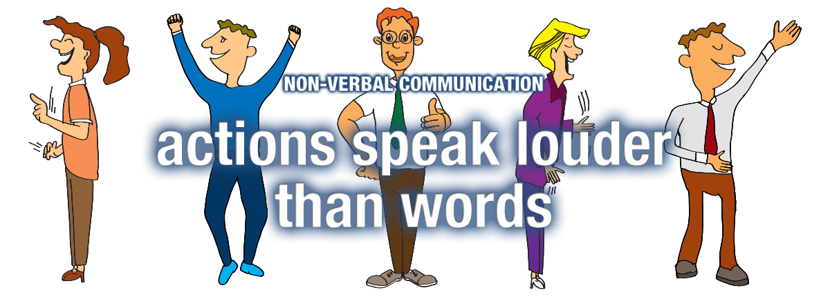 Feeling clipart non verbal Different Types  of Verbal