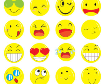 Feelings clipart Smiley Etsy clipart Feelings Emoticons