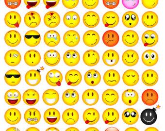 Feeling clipart printable Smiley Printable Feelings Art Clipart