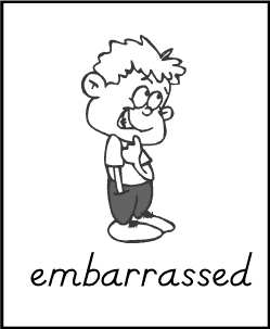 Feelings clipart embarrassed Embarrassment Clipart Free Clipart Panda
