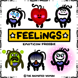 Feelings clipart emoticon Super has Woman: with pieces