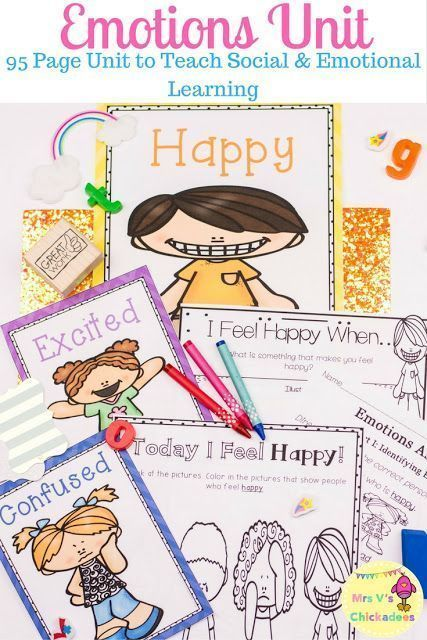 Feelings clipart excited child About Unit: Detailed first Emotions