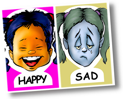 Feelings clipart faces poster Cards poster chart class as