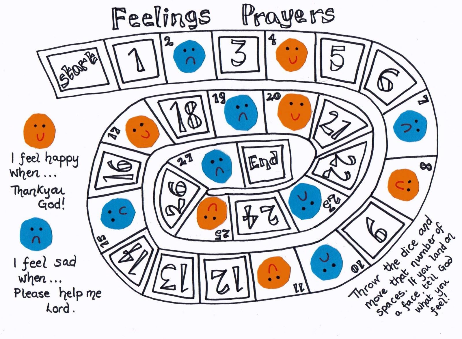 Feelings clipart game Feelings  how way Children's