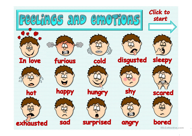Feelings clipart game Free Full and Feelings emotions