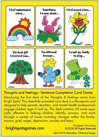Feelings clipart game Card & Feelings: Sentence com: