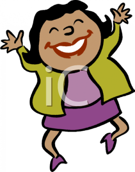Feelings clipart happy person Art Clip People Art Download