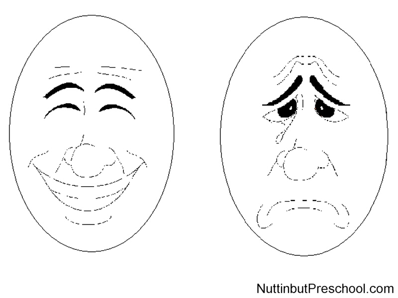 Feelings clipart happy sad face Your Art But – Free