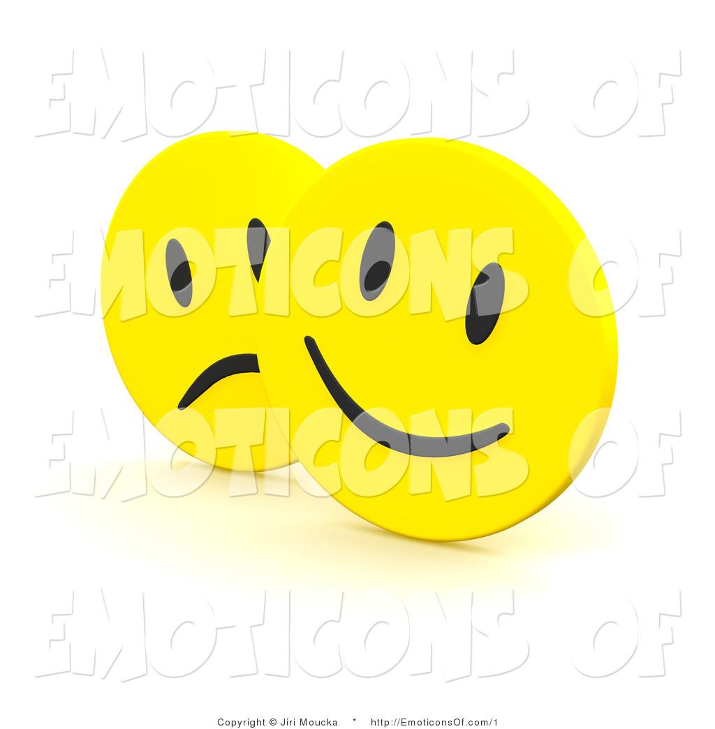 Feelings clipart happy sad face Royalty Designs 3d Feelings Free