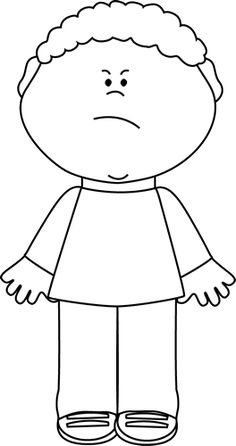 Sad clipart black boy #10