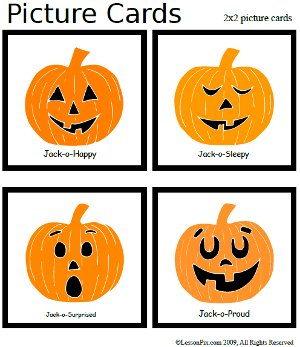 Feeling clipart memory game With Five Little Little Halloween