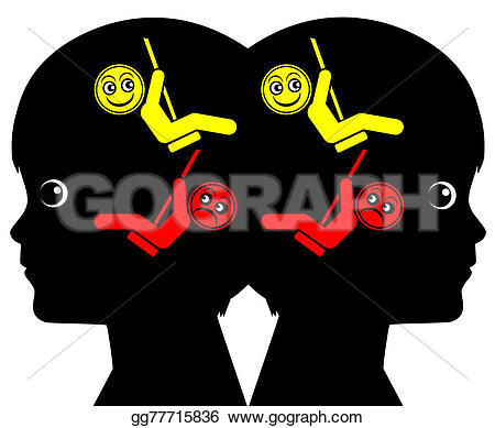 Feeling clipart mood swing Clipart swings Identical Identical Stock